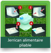 Jerrican-alimentaire-pliable